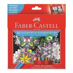 Lápis De Cor Faber Castell Caixa Com 60 Cores