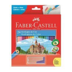 Lápis Faber Castell 24 Cores