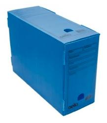 Caixa Arquivo Morto Oficio Polidello Dello Azul