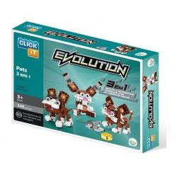 Evolution Pets 3 Em 1 Click It 349 Peças
