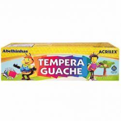 Tempera Guache 12 Cores