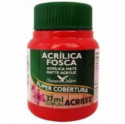 Tinta Acrílica Fosca 37ml 507 Vermelho Fogo
