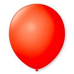 Balão Nº 7 Vermelho Quente 50 Unidades