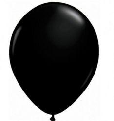 Balão Nº 7 Preto Ebano 50 Unidades
