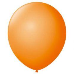 Balão Nº 7 Laranja Mandarim Frutti 50 Unidades