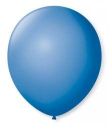 Balão Nº 7 Azul Turquesa 50 Unidades