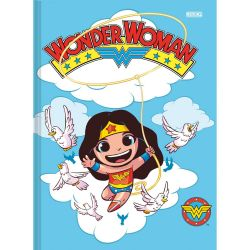 Caderno Pequeno 80 Folhas Brochura DC Super Friends