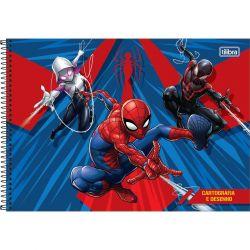Cartografia e Desenho Milimetrado 80 Folhas Spider-Man