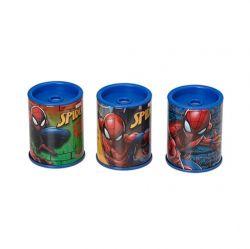 Apontador Metálico Com Depósito Spider-Man Unid