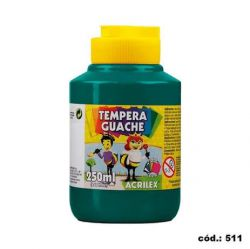 Tempera Guache 250ml Verde Bandeira