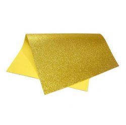 E.V.A. Escolar Com Glitter 40x60 Cores Sortidas