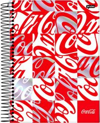 Caderno Universitário Coca-Cola 10 Matérias