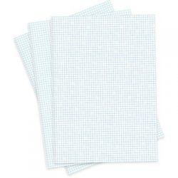 Papel Quadriculado A4 5x5