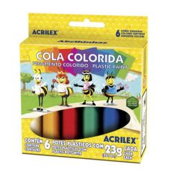 Cola Colorida 6 Cores 23g