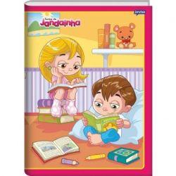 Caderno Grande Brochura 48 Folhas Turma Do Jandainha