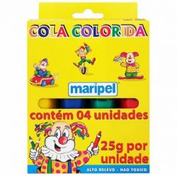 Cola Colorida 4 Cores 25g