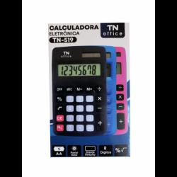 Calculadora Pequena Eletrônica Preta TN-519