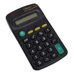 Calculadora Pequena Eletrônica Preta TN-402